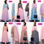 Busana Hijab Murah Freya Dress SY