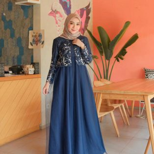 Busana Hijab Murah Virsha Dress
