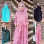 Busana Muslim Modern Angel Dress