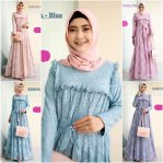 Busana Muslim Terbaru Kimora Lace Dress