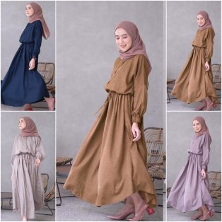 Baju Hijab Modern Kaia Dress