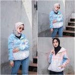 Baju Hijab Modern Love You Jaket Hoody