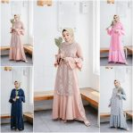 Baju Hijab Modis Fatima Dress Ml