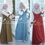 Baju Hijab Terbaru Clara Dress MC