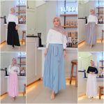 Baju Muslim Modis Aneta Pleats Skirt