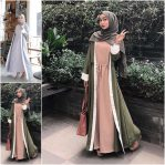 Baju Muslim Modis Dilva Dress