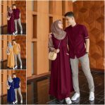 Baju Muslim Modis Farel Couple