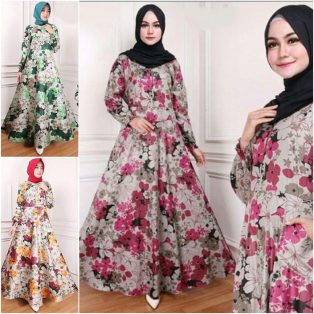 Busana Hijab Murah Dotura Dress