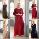 Baju Hijab Modis Cindy Pleats Brokat