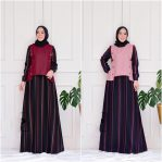 Jual Baju Hijab Kafka Set Dress