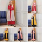 Pakaian Hijab Murah Monic Dress