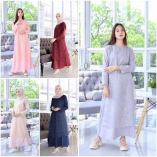 Pakaian Hijab Murah Pradita Dress