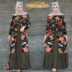 Baju Hijab Murah Summer long Dress