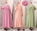 Baju Muslim Modern Lucky Dress