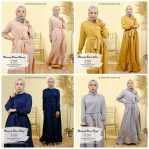 Baju Hijab Modern Marwah Dress Bram
