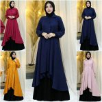 Baju Hijab Modis Marwah Dress