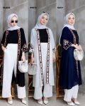 Baju Muslim Modis Bohemian Long Outer