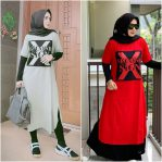 Jual Baju Muslim X Second Tunik