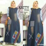 Baju Muslim Modern Katty Dress