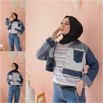 Baju Hijab Modern Lancy Snow Jacket