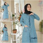 Busana Muslim Murah Jenka Dress