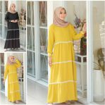 Baju Hijab Modis Halimah Dress