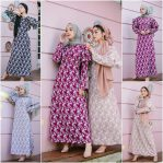 Baju Hijab Murah Sandrina Cape Dress