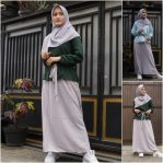 Jual Baju Muslim Iksora Dress