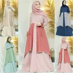 Jual Baju Muslim Rahila Dress