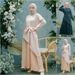 Jual Baju Muslim Asy Pleated Dress
