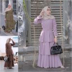 Baju Hijab Modern Nameera Dress