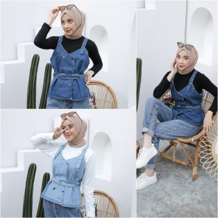 Baju Hijab Modis Werha Set 2in1