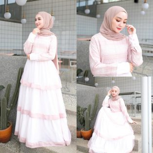 Baju Hijab Terbaru Lady Premium Dress