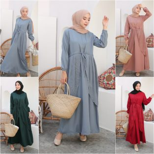 Baju Muslim Modern Holly Maxy