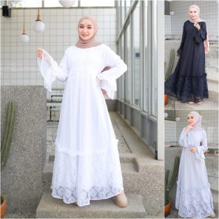 Baju Muslim Modis New Aluna Dress