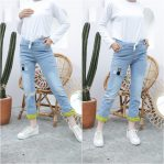 Jual Baju Hijab Cat Two Jeans Pant
