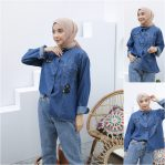 Jual Baju Muslim Cat Tootles Blouse