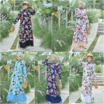 Baju Hijab Modern Deliona Dress
