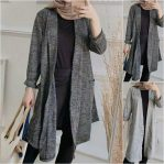 Baju Hijab Murah Pocket Twist Cardi