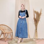 Jual Baju Hijab Candy Overall Jeans