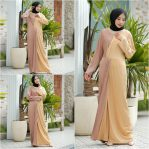 Jual Baju Hijab Moza Pleats Dress