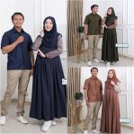 Jual Baju Muslim Nevada Couple Set