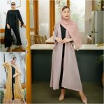 Baju Hijab Modis Felly Long Outer