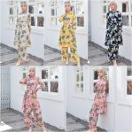 Baju Muslim Modis Tropical Set
